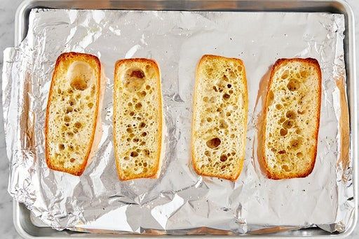Toast the bread