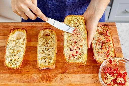 Finish the bread