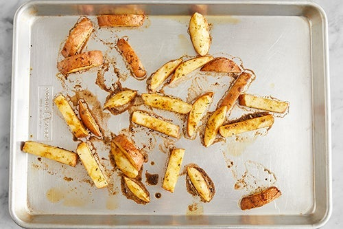 Make the oven fries