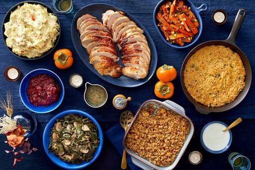 Edouardo Jordan's Turkey Feast serves 6 to 8