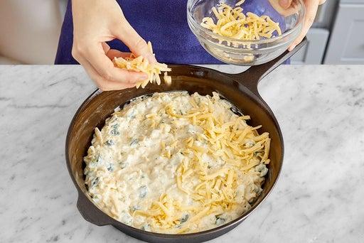 Assemble & bake the cornbread