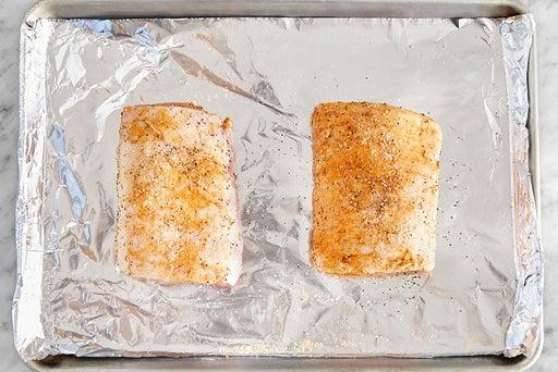 Prepare & roast the pork