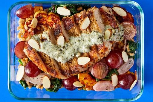 Finish & Serve the Tuscan Pork & Farro