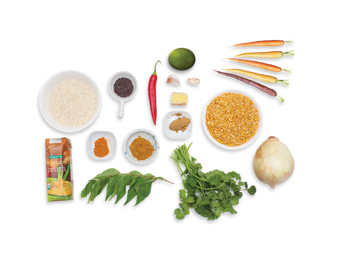 Dal Bhat  ingredients