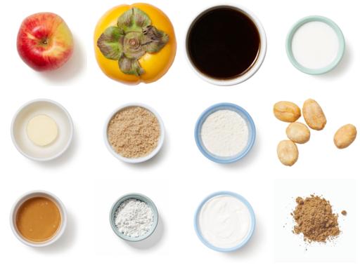 Apple-Peanut Crumble serves 6 to 8
