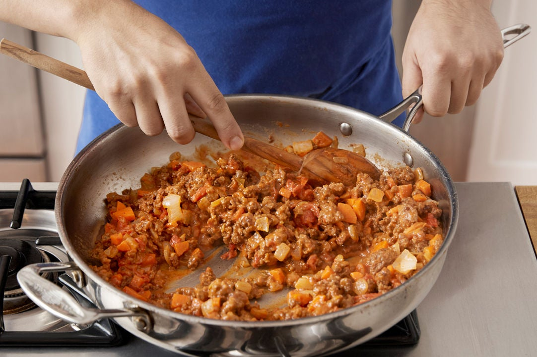 Make the bolognese: