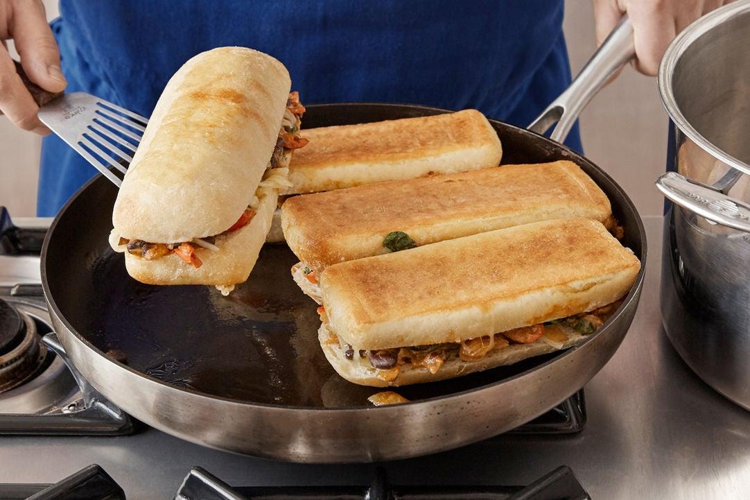 Cook the tortas: