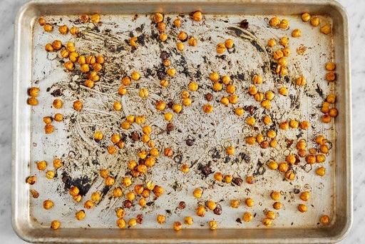 Season & roast the chickpeas