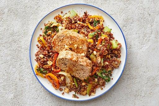 Finish & Serve the Turkey Meatloaf & Hoisin Mayo