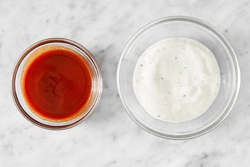 Make the sauces & serve your dish