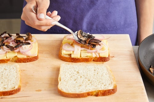 Assemble & cook the sandwiches