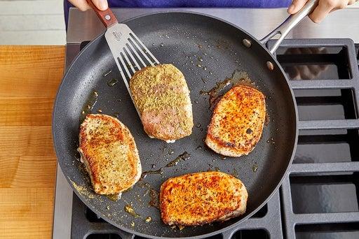 Cook & slice the pork