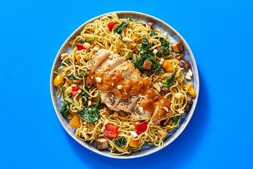 Finish & Serve the Chicken & Peanut-Soy Glaze