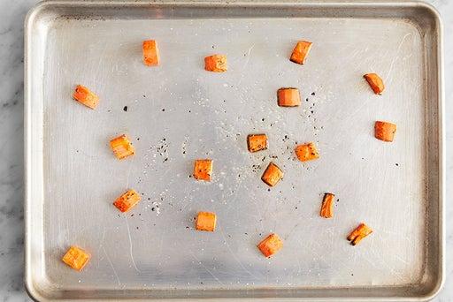 Prepare & roast the carrots