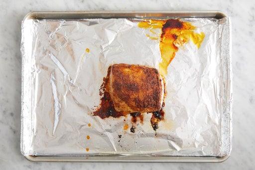 Roast the pork