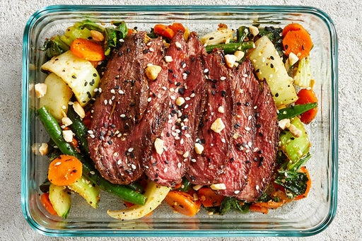Finish & Serve the Japanese-Style Steak