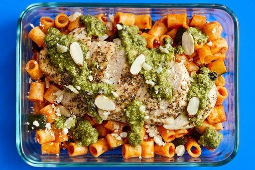 Finish & Serve the Italian Chicken & Pasta