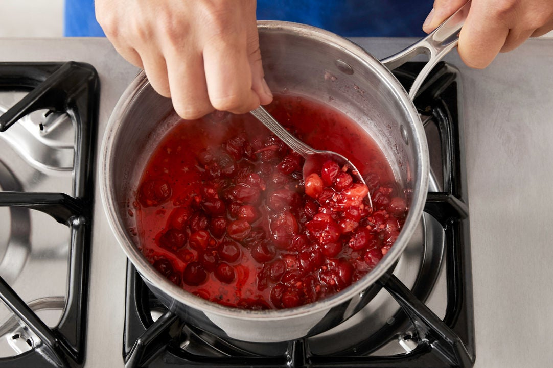 Make the compote: