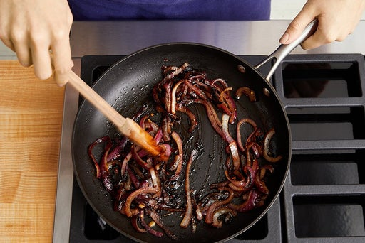 Caramelize the onion