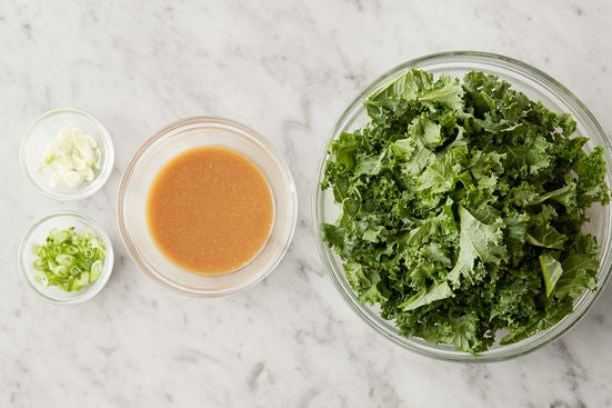 Prepare the remaining ingredients & start the sauce: