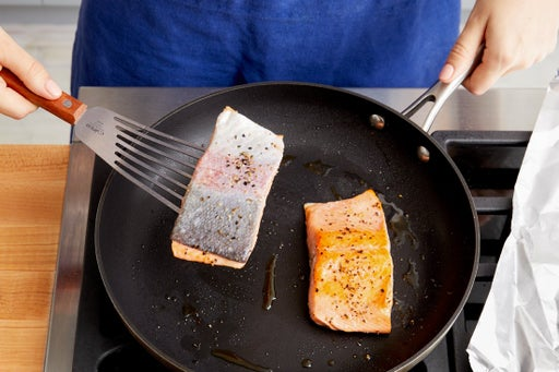 Cook the fish