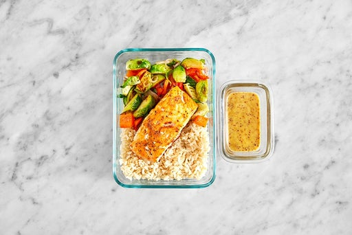 Assemble & Store the Southern-Spiced Salmon
