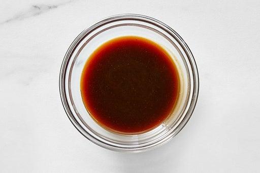 Make the Hoisin Vinegar