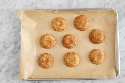 Bake the cookies & serve your dish