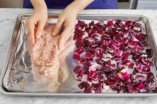Form & bake the meatloaf