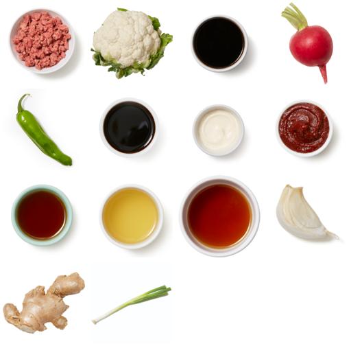 Korean-Style Beef Bowls with Shishito Peppers & Gochujang Mayo