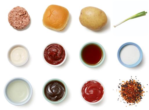 Gochujang Beyond Burger™ with Scallion Jam & Roasted Potatoes