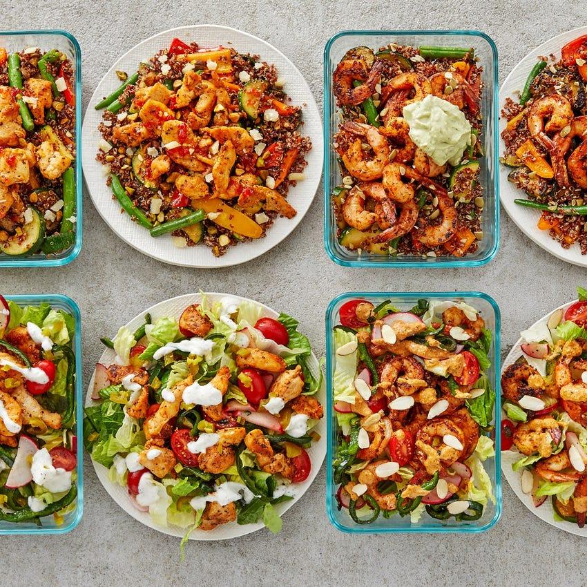 Carb Conscious with Chicken & Shrimp