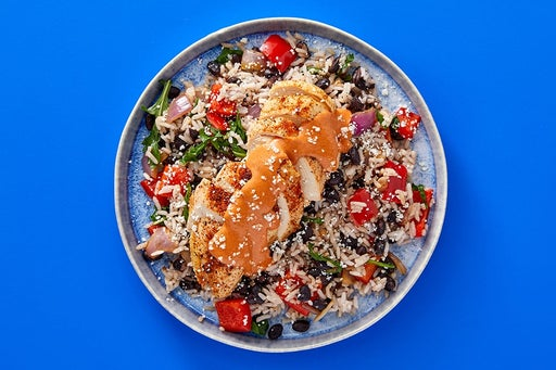 Finish & Serve the Mexican-Spiced Chicken