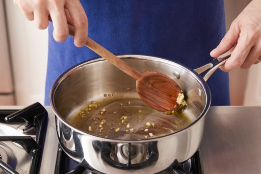 Make the garlic oil: