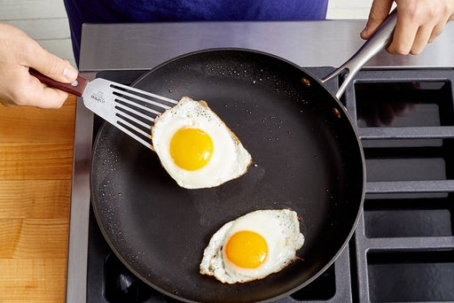 Fry the eggs