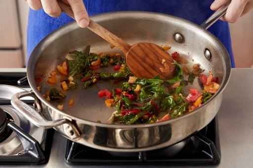 Cook the chard:
