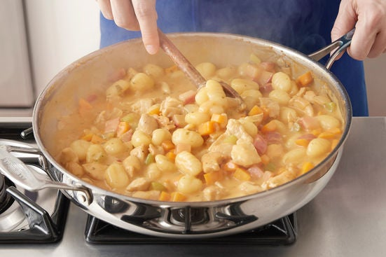 Add the gnocchi: