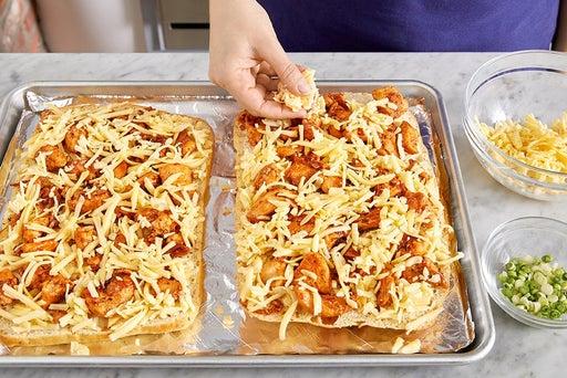 Assemble, bake & serve the flatbread