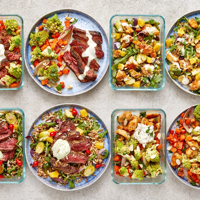Carb Conscious with Steak & Chicken