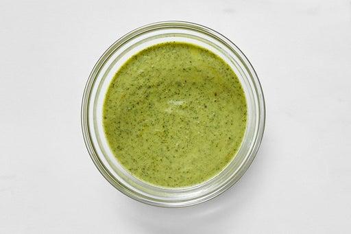 Make the Creamy Cilantro Sauce