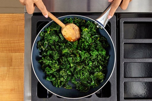 Cook the kale