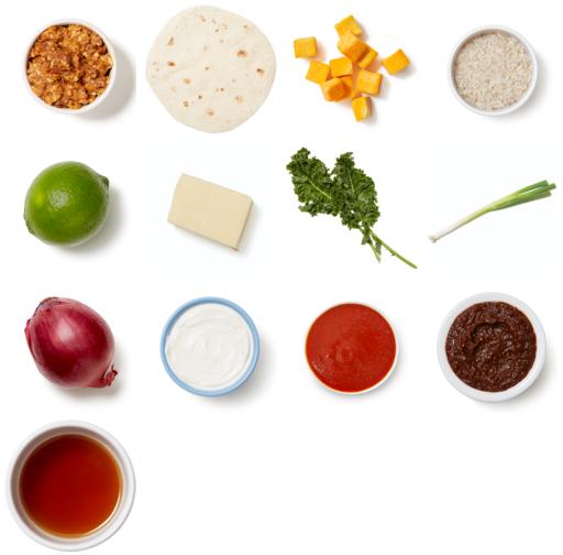 Butternut Squash Enchiladas with Honey-Chipotle Sauce