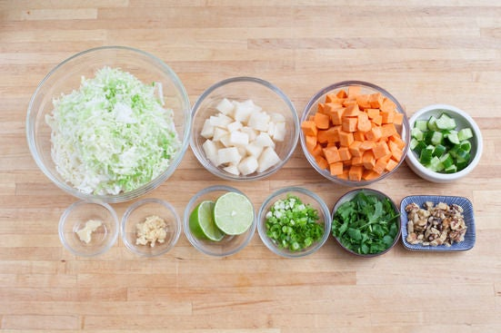 Prepare your ingredients: