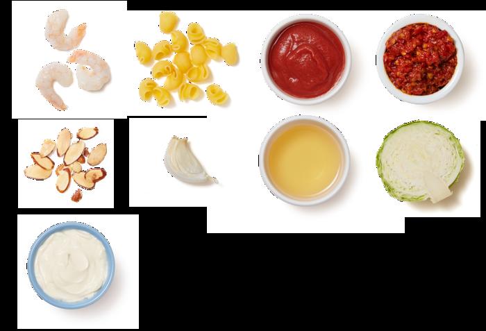 Shrimp Fra Diavolo with Lumaca Rigata Pasta