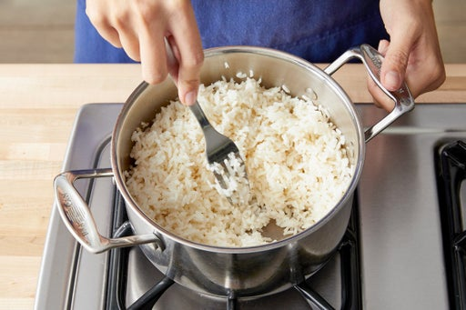 Cook the rice