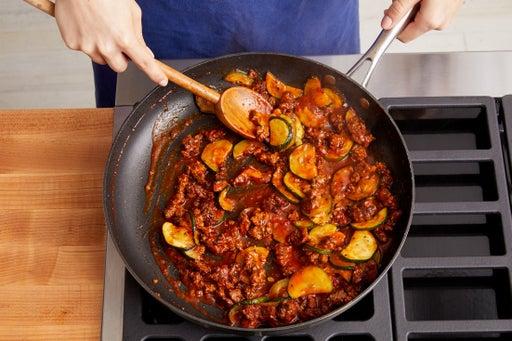 Cook the Beyond Burger™ & make the sauce