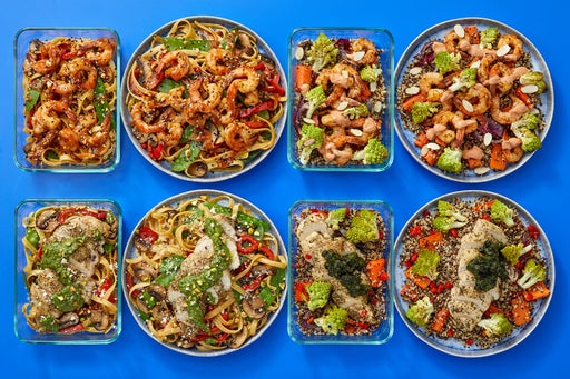 Chicken & Shrimp Meal Prep Bundle