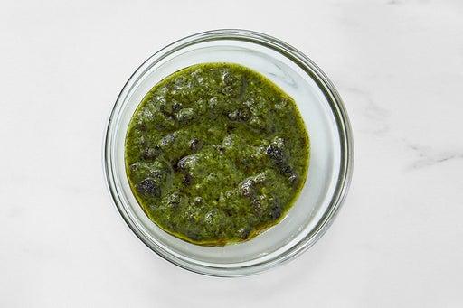 Make the Currant-Cilantro Sauce