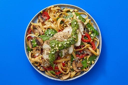 Finish & Serve the Italian Chicken & Fettuccine