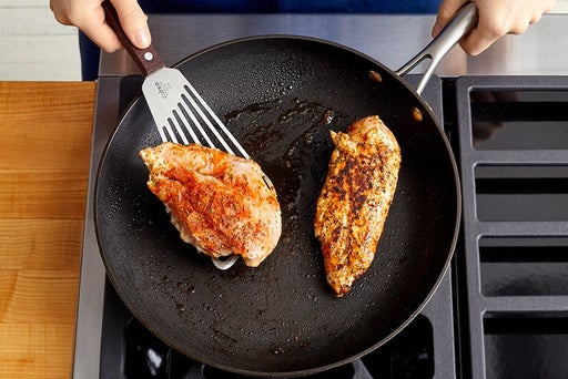 Cook the chicken